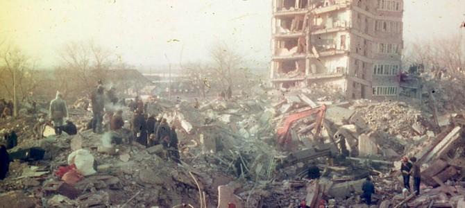Кровавое землетрясение в Армении 1988 года