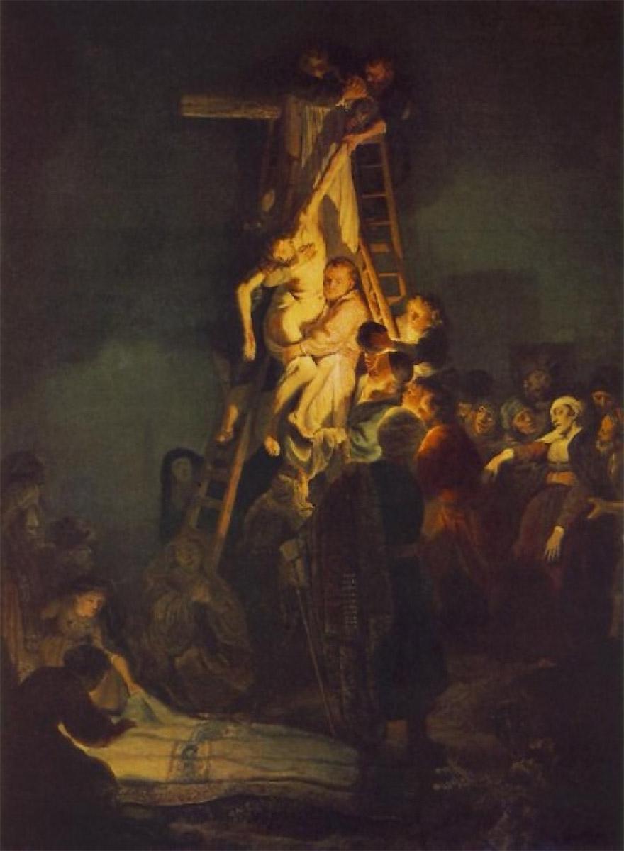 Снятие с креста, Рембрандт