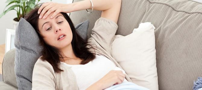 Опасность боли при беременности как при месячных
